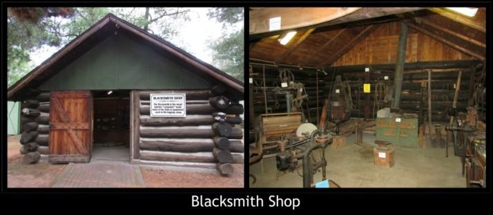 Blacksmith Shop in Rhinelander museum