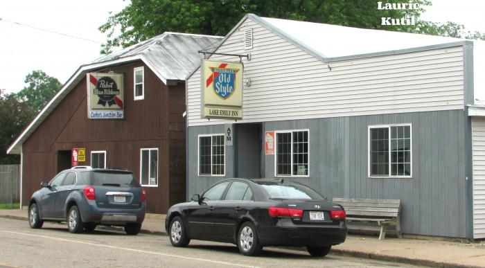 Carbo's Junction Bar and Lake Emily Inn in Amherst Junction WM
