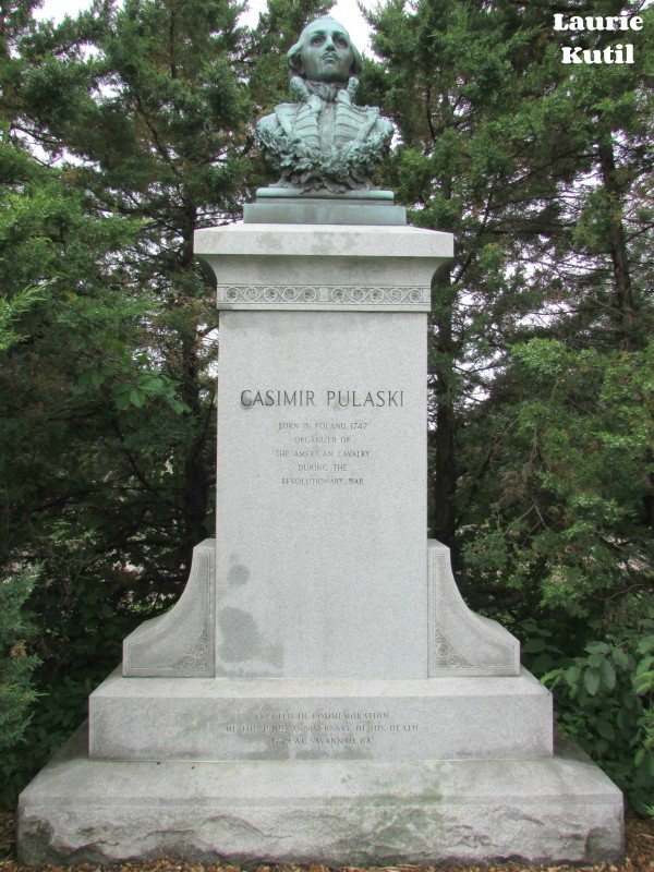 Casmir Pulaski Statue in Stevens Point WM