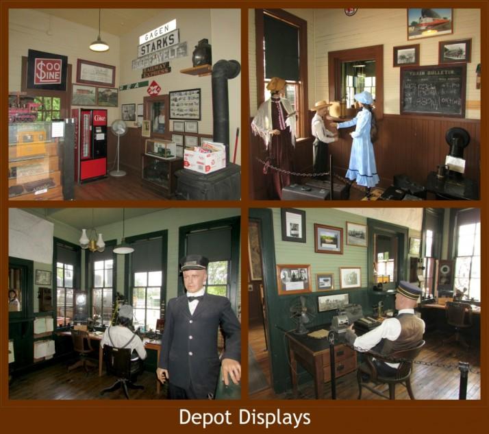 Depot Displays in Rhinelander