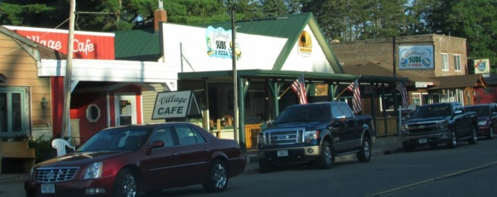 Downtown Lake Tomahawk businesses 2