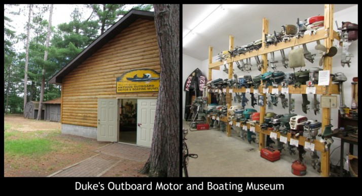 Duke's Outboard Motor and Boating Museum in Rhinelander
