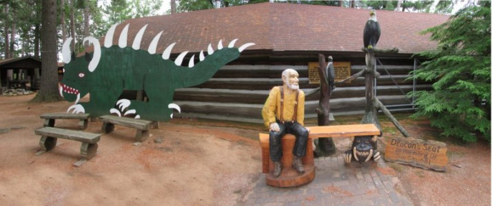 Hodag and Deacon's Seat Tom Skubal at Rhinelander