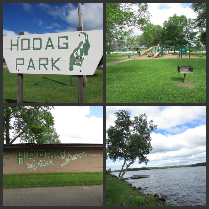 Hodag Park collage in Rhinelander