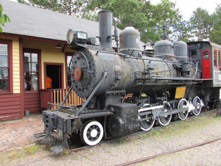 Number 5 Thunder Lake Locomotive in Rhinelander
