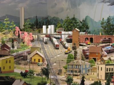Model Railroad at Rhinelander