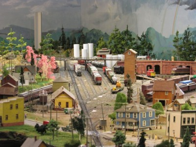 Model Railroad at Rhinelander