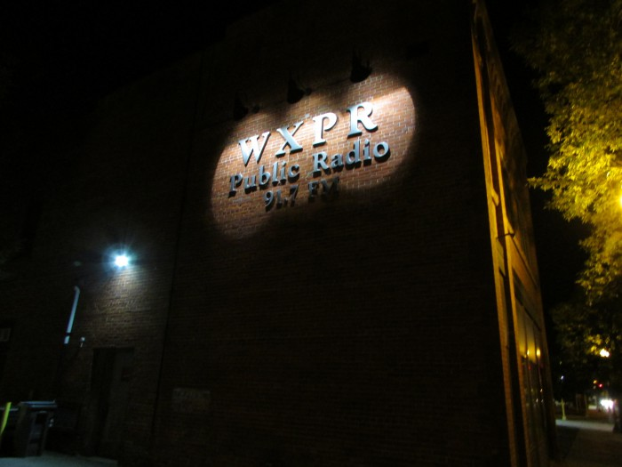 WXPR 91.7 FM in Rhinelander