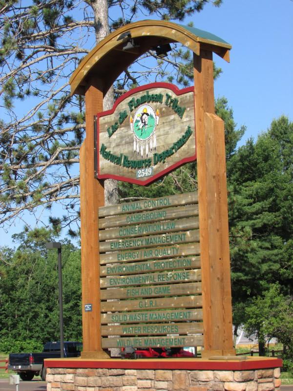 Lac du flambeau Tribal Natural Resource Department