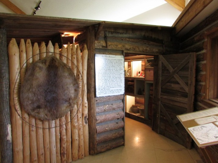Fur Trading Post display