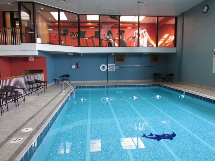 Pool and Fitness room at Inn on the Park
