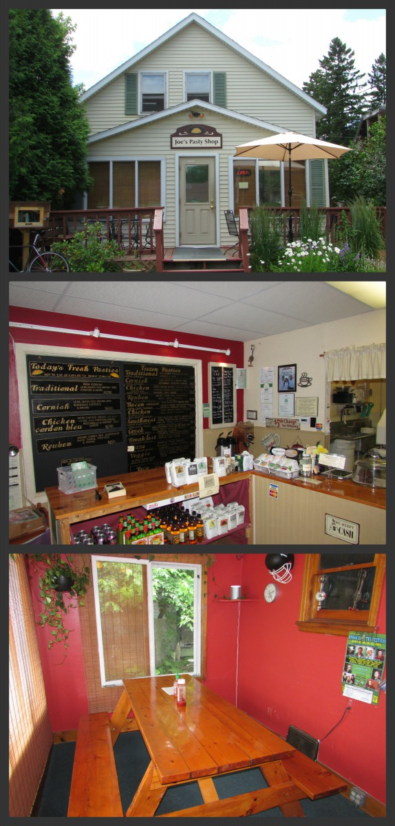 Joe's Pasty Shop Collagein Rhinelander