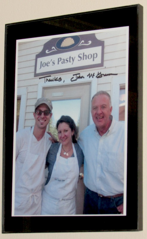 John McGivern pic at Joe's Pasty Shop