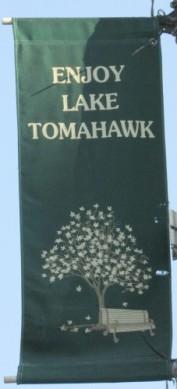 Lake Tomahawk banner