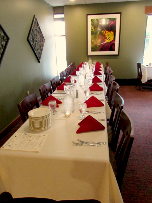 Long Table at Inn on the Park