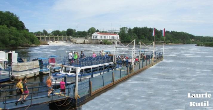 Lower Dells Boat Landing  WM