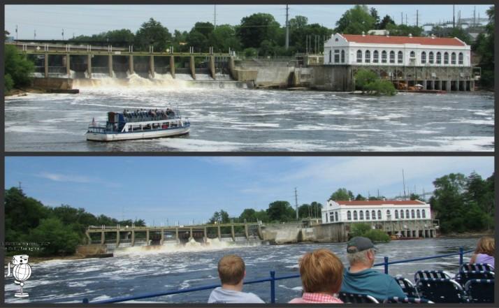 Lower Dells Boat Tour launch in Dells WM