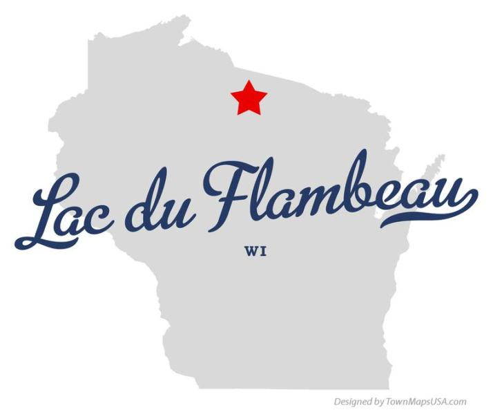 map_of_lac_du_flambeau_wi