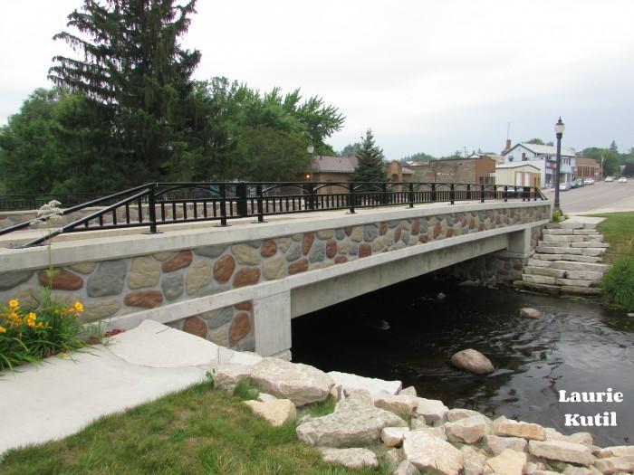 Mill Street Bridge in Amherst WM