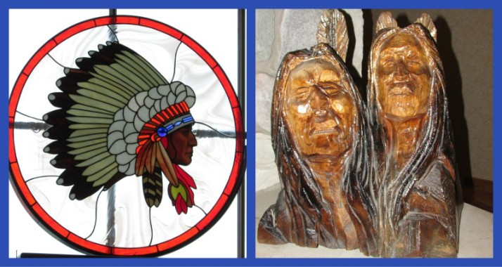 Native American Art at Lake of the Torches