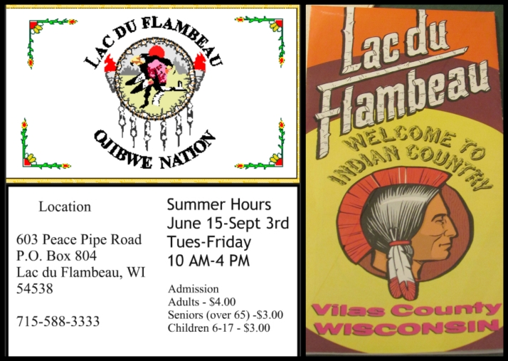 Ojibwe Museum Hours Collage 2