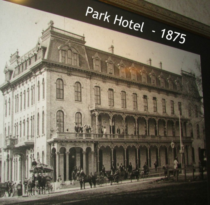 Park Hotel in Madison 1875