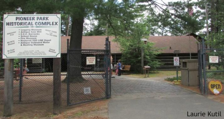Pioneer Park Historical Complex in Rhinelander WM