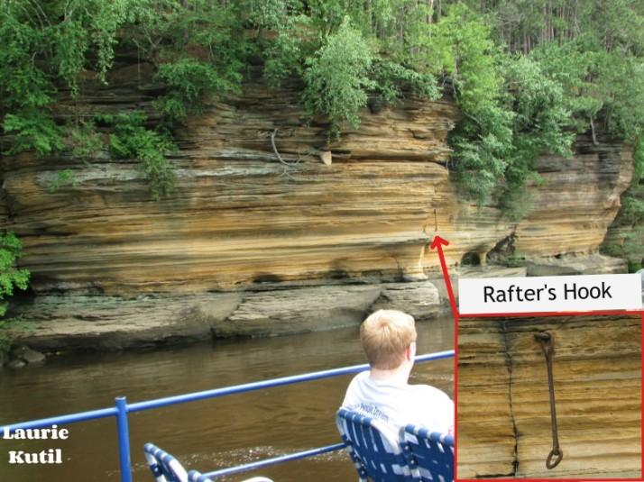 Rafters Hook inset at Lower Dells WM