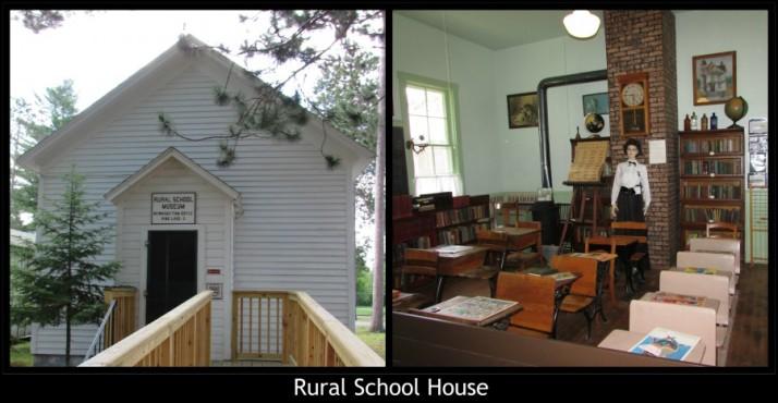 Rural School House in Rhinelander