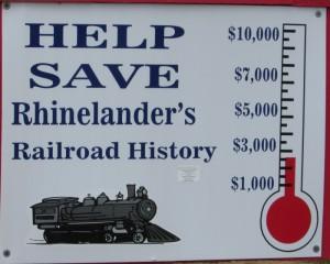 Save Rhinelander Railroad History