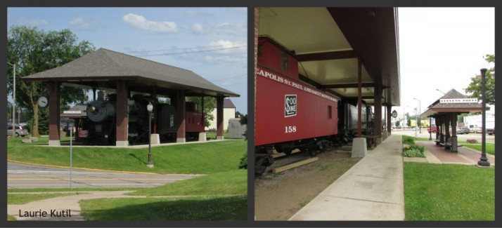 Southside Railroad Complex Front and Back WM