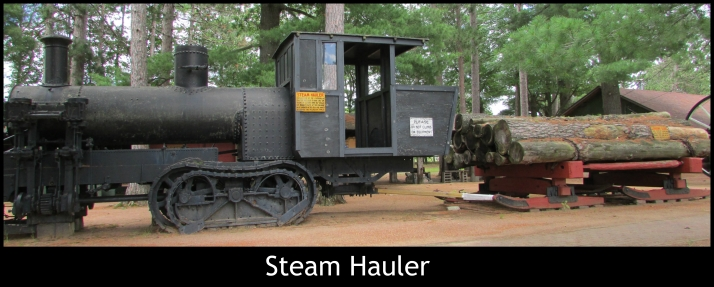Steam Hauler in Rhinelander