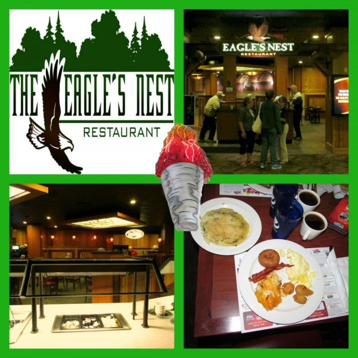 The Eagle's Nest Restaurant at Lake of the Torches torch