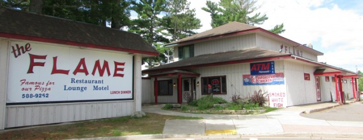 The Flame Restaurant and Lounge in Lac du Flambeau