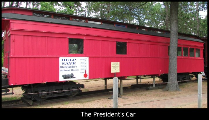 The President's Car in Rhinelander
