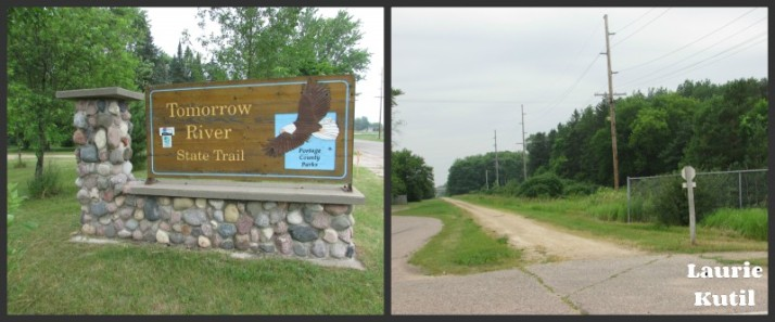 Tomorrow River State Trail Collage WM