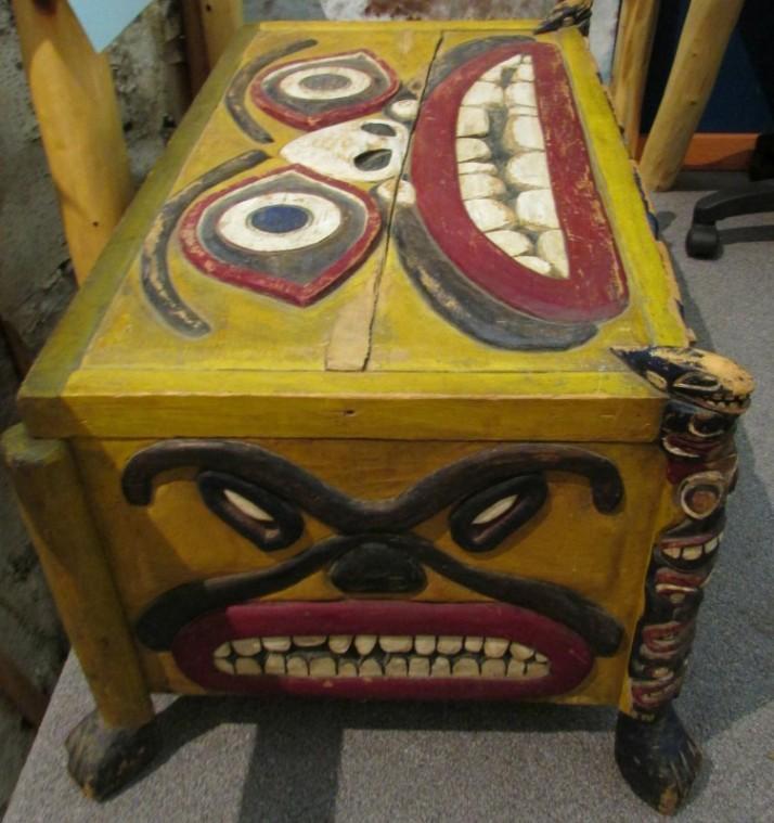 Wood Face Box