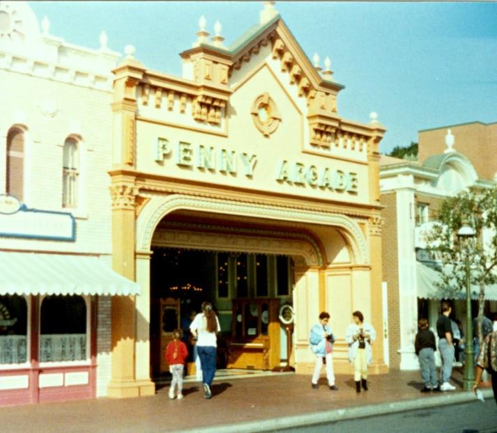 Disneyland Penny Arcade