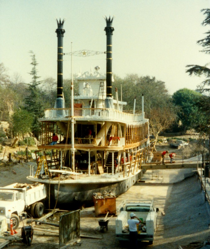 Disneyland Rivers of America Paddlewheel Boat