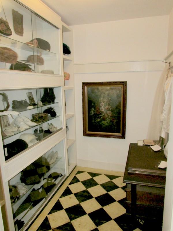 Hat room in Lodi Museum