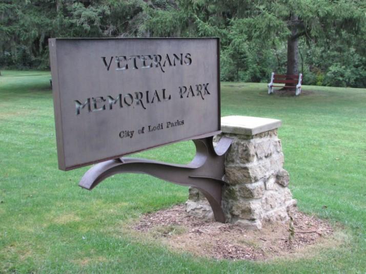 Veterans Memorial Park in Lodi
