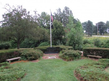 Veterans Memorial in Lodi