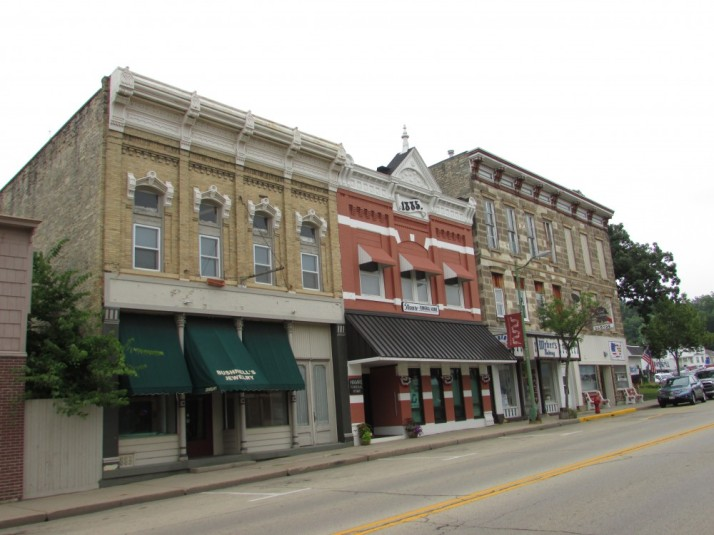 Former Bushnell's Jewlery - Hamre Funeral Home- former Weber Bakery-Lloyd's and American Legion