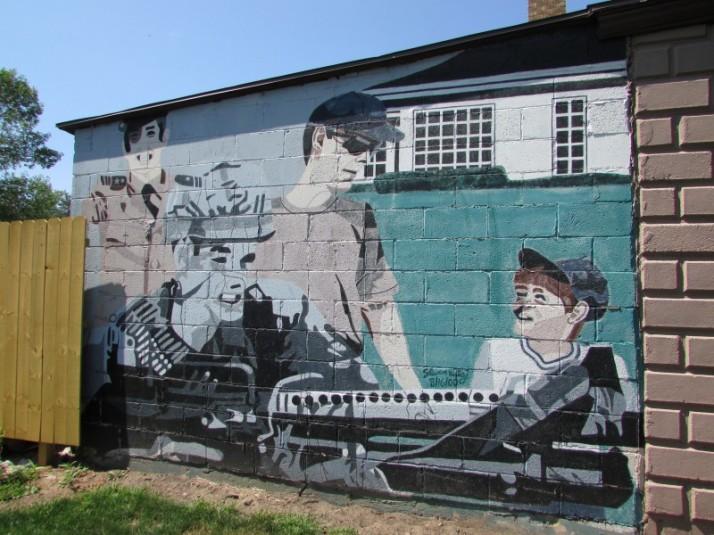 Mural in Westfield