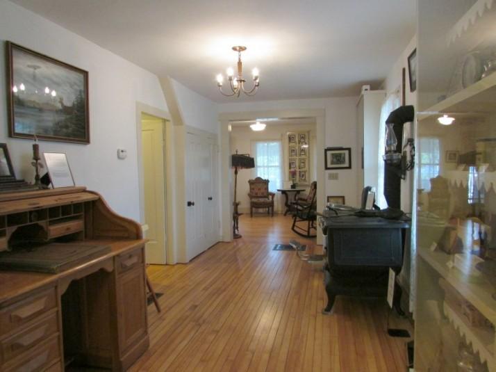 Jolivette House hallway in Lodi