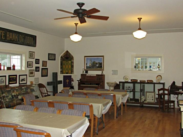 Main Room at Lodi Museum