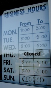 Mischer's Country Store hours