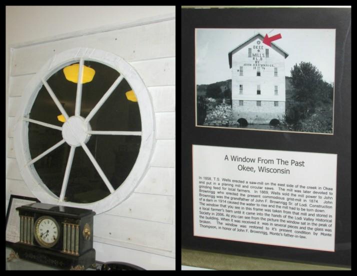 Okie Mill Round Window