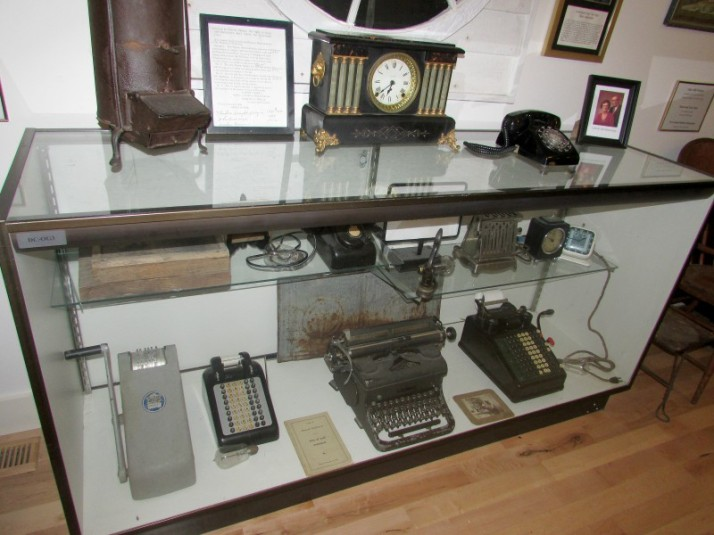 Phone and Adding Machine display in Lodi