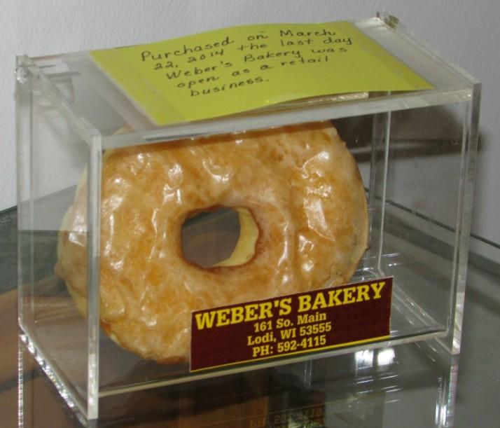 Weber Bakery Last Day Doughnut 3-22-14